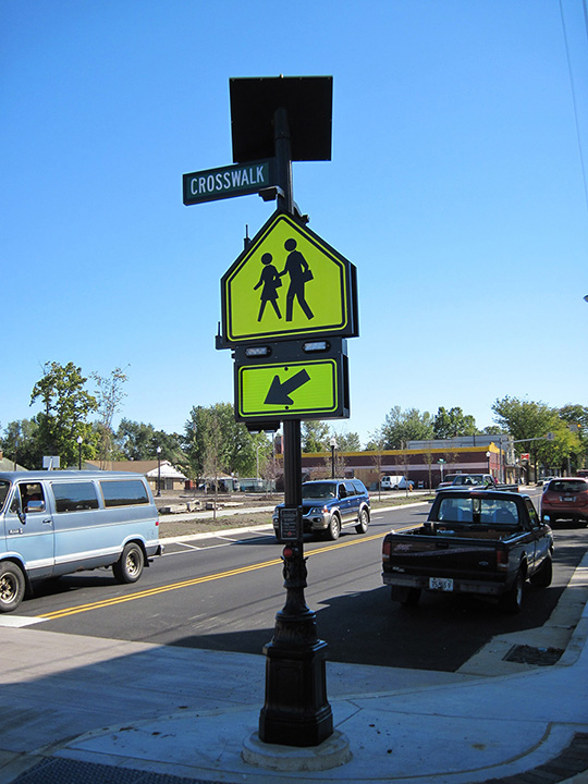 Glen Oak Crosswalk