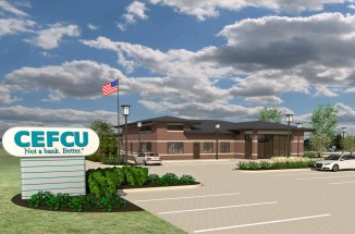 CEFCU Bloomington, LEED Silver