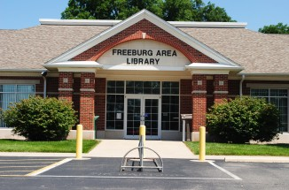 Freeburg Library Entrance