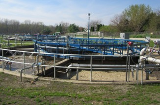 Mahomet Wastewater Treatment plant, civil engineering