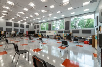 Washington Community High School Band Room