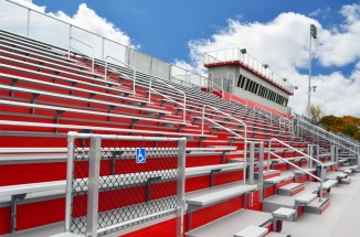 Morton High School Bleachers