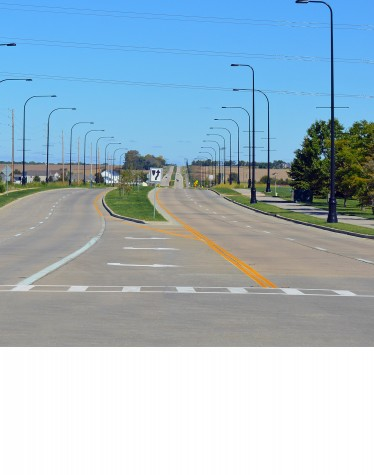 Orange Prairie Road, Highway Design