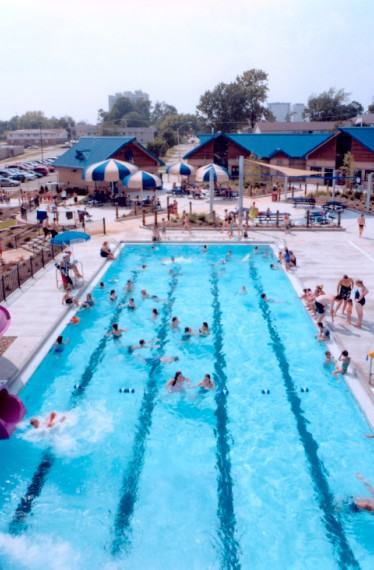 Anderson Aquatic Center Competitive Pool