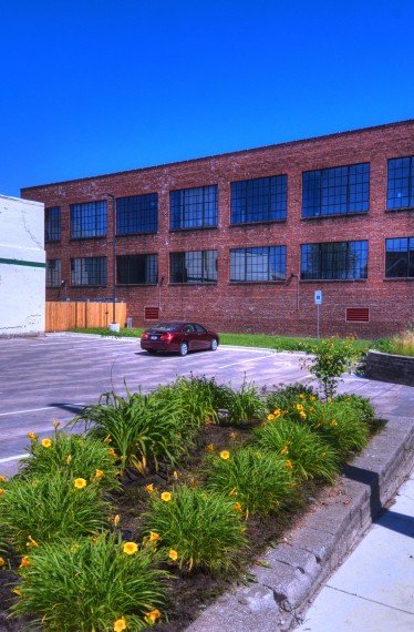 Cooperage Building with Parking