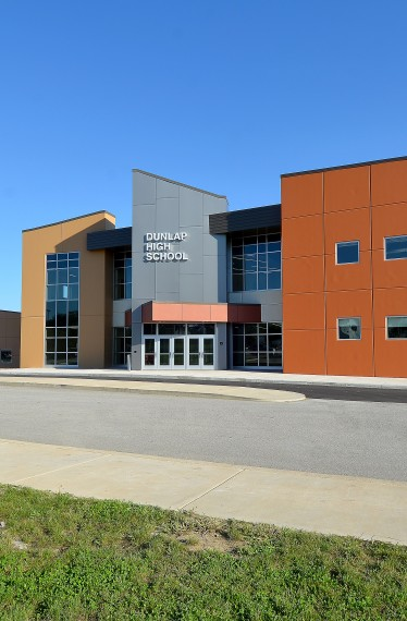 Dunlap High School Phase II Exterior
