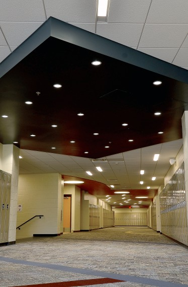 Dunlap High School Phase II Hallway