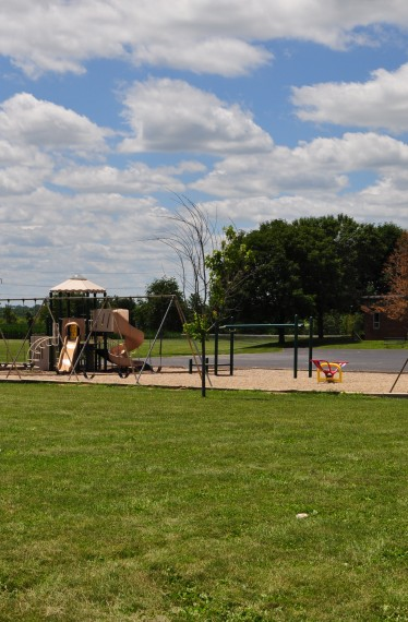 banner elementary addition playground