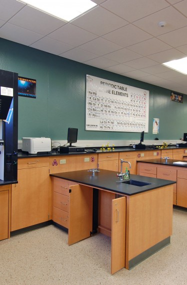 Dunlap High School Phase I Science Lab