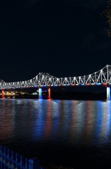 Murray Baker Bridge - Blue