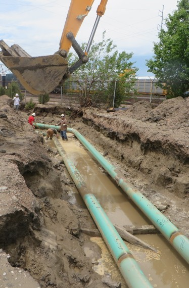 Pipeline Triad Relocation