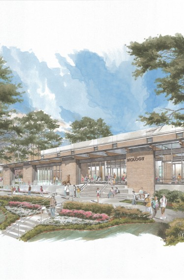 UWG North Entry Rendering