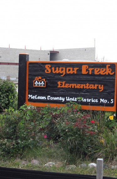 Sugar Creek Entry Sign