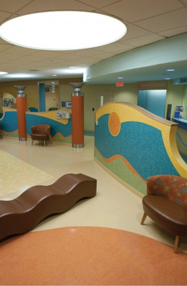 Methodist North at Allen Road Pediatric Waiting Area