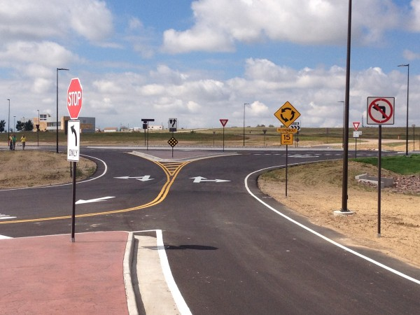 Enoch Road Roundabout Overview