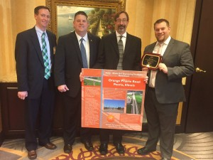 Orange Prairie Road wins ACEC award